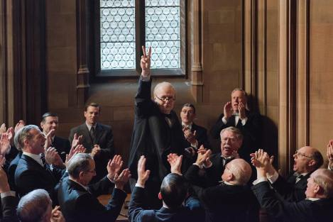 Gary Oldman - Churchill - Darkest Hour